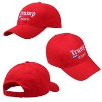 amerikan bayrağı snapback şapka toptan satış-Amerika Büyük Tekrar Olun Şapka Donald Trump Cumhuriyet Snapback Spor Şapkalar Beyzbol Kapaklar ABD Bayrağı Mens Womens 2020 Amerikan seçim şapka