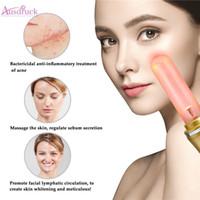 cuidados de pele elevados venda por atacado-Novo Portátil de Alta Freqüência Acne Tratamento Pele Mancha Facial Facial Spa Spa Care Máquina de Beleza Massager Máquina
