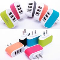 Wholesale video power for sale - Group buy EU US Plug Wall Charger Station Port USB Charge Charger Travel AC Power Chargers Adapter for Huawei Xiaomi iPhone Dropshopping
