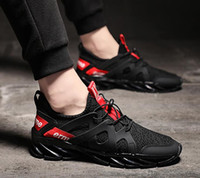 Wholesale shoes flexible soles resale online - 2019 Brand Fashion Black Men s Casual Shoes Male Fly Netting Line Uppers Flexible Folding shoes Body Non Slip Rubber Sole Shoes size