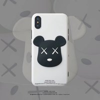 ingrosso porta gli orsi 3d-Mytoto Hot 3D Limited Kaws Bear toy Custodia morbida in silicone per iphone 6 S plus 7 7plus 8 8plus X XR XS MAX simpatica custodia anti-caduta per telefono