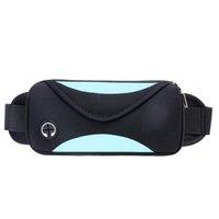 auricular femenino al por mayor-Paquetes de cintura al aire libre multifunción impermeable teléfono móvil de alta capacidad masculinos y femeninos paquetes de cintura de fitness bolsa de auriculares