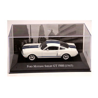 Wholesale shelby cars for sale - Group buy IXO Altaya Scale Ford Mustang Shelby GT H Cars Diecast Toys Models Limited Edition Collection White SH190910