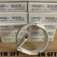 Wholesale charge cable apple online – 100pcs generations Original OEM quality m ft M ft USB Data Sync Charge Cable With New Package