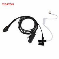 3-Wire PTT Acoustic Tube Earpiece Discrete Mic for Hytera//HYT PD780//PD702//PD705