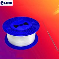 rouleaux de câble achat en gros de-Câble transparent 500m TAC papillon SM G657A2 Courbure fibre insensible 500m / rouleau Câble optique invisible ELINK