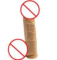 Wholesale women strap black penis resale online - Newest Super cm Dildo Silicone Penis Female Masturbation Realistic Flexible Dildo Bdsm Sex Toy For Women