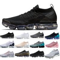 cheap for discount 547e4 41866 Nike air vapormax air max airmax flyknit 2.0 1.0 shoes New Air BE TRUE Oro  Nero Rosa Donna Uomo Designer Scarpe da corsa Sneakers EUR Taglia 36-45