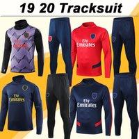 xxl moda masculina venda por atacado-19 20 Training Suit Mens Futebol 2019 2020 Mens Moda Treino Kit camisas do futebol Adulto manga comprida Uniformes vendas a baixo preço