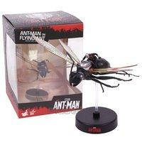 miniatur sammlerstück großhandel-Marvel ANT MAN auf Flying Ant Miniatur Sammlerstück PVC Figur Modell Spielzeug