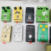 Wholesale electric guitar flanger resale online - 4 Models Classic Guitar Effect Pedal Choose Multi Effects Pedals Distortion Overdrive Delay Echo Reverb Chorus Flanger Wah Volume Phase