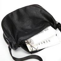 Wholesale messenger bag across resale online - 2019 new trend men s dumplings bag fashion Harajuku shoulder Messenger bag trend across casual retro women s bags