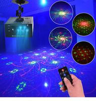 abertura da lente venda por atacado-Luzes do laser Led Projetor 96 Padrões DJ Stage Party Iluminação 5 Fontes Aberturas Lente Vermelho Verde Azul Auto Som Ativado