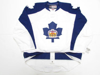 ingrosso pullover hockey autentico ccm vintage-Cheap personalizzato TORONTO MARLIES AHL AUTHENTIC THIRD CCM PRO EDGE 2.0 7287 HOCKEY JERSEY Mens Vintage maglie S-5XL