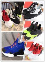 Wholesale air hurache shoes resale online - 2018 Air Huarache Drift infant sports shoes Shoes kids sports White Children Huaraches Designer Hurache Casual trainers Baby casual shoes