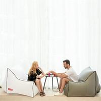 tapis gonflable achat en gros de-Outdoor air portable canapé unique gonflable tapis anti-humidité eau gonflable canapé-lit camping plage canapé en plein air T3I5026