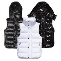 frauen weiße winterwesten großhandel-Neue Designer Damen Winter Daunenweste Klassische Weathersjacke mit Federmantel für Damen
