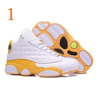 Wholesale multiple games for sale - Classic top quality XIII mens basketball shoes Multiple colors panda version sneakers He Got Game US7