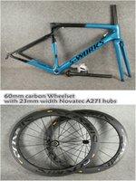Wholesale 58cm frame for sale - 44 cm Sagan Blue Black chameleon T1000 UD Matte Glossy SL6 carbon road frames mm carbon wheels for selection