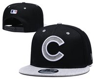 Wholesale snap back caps for men resale online - hot Popular cubs fashion Snapback Caps Football Baseball Snap Back Hats Hip Hop Players Sports for men and wome