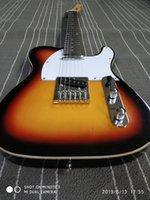 versand e-gitarre großhandel-Freies Verschiffen, elektrische Gitarre der Sechs-Schnur Tele Qualitäts-3ts, elektrische Gitarrenstelle