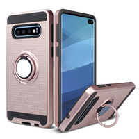 Wholesale galaxy light phone cases for sale - Car Mount Holder Magnetic Hybrid Phone Ring Case for iphone Plus X XS Max XR Samsung Galaxy S10 S10e G Cover
