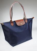 marca de saco france venda por atacado-França Marca novas bolsas moda feminina Shoulder Bags Oxford Lady Grande capacidade prática Feminino Folding Handbag cores Mulher Sólidos
