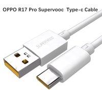 oppo kablosu toptan satış-Orijinal OPPO R17 Pro Tip-C Veri Kablosu 5A Hızlı Şarj Kablosu Tip C OPPO Bulmak Için X Samsung Huawei arkadaşı 20Pro Xiaomi Mi8