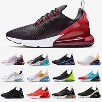 zapatillas de malla al por mayor-2019 Nike Air Max 270 Vapormax VM OFF WHITE Zapatos para hombres y mujeres, Rosa blanco y negro, Zapatillas clásicas tricolores, Zapatillas para correr 36-45