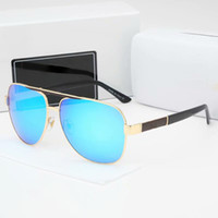 Wholesale full face goggles resale online - 2019 Brand Designer Sunglasses Women and Man Sunglasses Nice Face Glasses Goggles Metal Classic Designer Eyeglasses Sun Glasses Colors