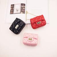 мини-модный кошелек для малышей оптовых-Новые детские сумки модельер детские мини-кошельки сумки на ремне подростковые дети девушки сумки почтальона милые рождественские подарки G4125