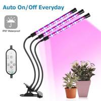 ingrosso ufo ha portato a crescere spettro pieno di luci-Fito-lampada a LED a luce piena 5V Fitolampy USB Fito-lampada a spettro completo a LED per piante da interno per piante da fiore Fitolamp