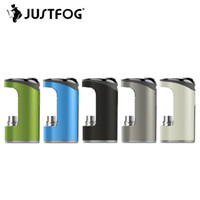 Wholesale metal box ego cig for sale - Group buy JUSTFOG Compact Battery mAh for JUSTFOG Compact14 Kit Q14 tank Clearomizer eGo Thread Mod Vape Vapor Mod e cig Box Mod
