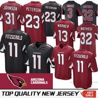 3965c7544 Wholesale cardinals football jerseys for sale - Arizona Larry Fitzgerald Cardinals  Jersey Kurt Warner David Johnson