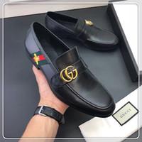 ingrosso scarpe da ginnastica italiana-Marchio italiano Designer di lusso Fashion Designer di lusso Casual asso Scarpe sneakers serpente mens mocassini firmati da uomo taglia 38-45