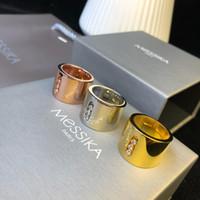 ingrosso zingara d'oro-Anelli di design Spostare serie Anelli scorrevoli con diamanti 2019 Accessori di moda di lusso Accessori per signora in oro 18 carati Mestieri famosi