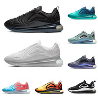super popular 8ea54 4d45c nike air max 720 Laufschuhe für Herren Damen Northern Lights Pink Sea  CARBON GREY dreifach schwarzweiß SUNRISE Herrentrainer Mode Sport Turnschuhe