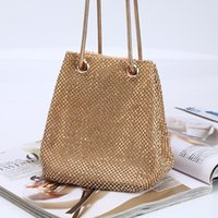 Wholesale clutch bags for prom resale online - Luxury Full Rhinestones Women s Fashion Evening Clutch Bag Party Prom Wedding Purse Best Gife For Women