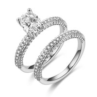 Wholesale high set engagement rings for sale - Group buy ZN Wedding Engagement Rings for Women Cubic Zirconia Ring luxury Wedding Band New Fashion Jewelry High Quality