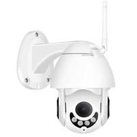 zoom wifi à prova de água venda por atacado-Segurança Câmera WIFI Dome Camera CCTV ao ar livre 355 Pan / 90 Inclinação 5X Zoom Night Vision Waterproof Áudio Bidirecional