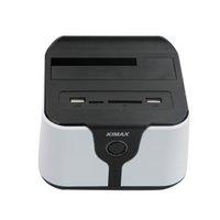 sabit disk sdd sürücüler toptan satış-Blueendless Hdd Ssd Yerleştirme Istasyonu Wifi Harici Sürücü Muhafaza 3.5 Sata Usb 3.0 2.5 Sabit Disk Kasa Sata Usb 3 Kablosuz R