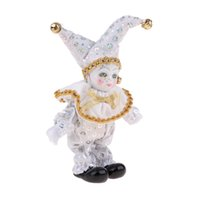 Wholesale wish toys for sale - Group buy 8inch Victorian Porcelain Doll Standing Ceramics Eros Dolls Clown Doll Toys Baby Wishing Doll Ornament Kids Birthday Gift White