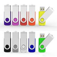 flash usb de 128 mo achat en gros de-128MB USB 2.0 Clés USB pivotantes Claviers en métal Clés à mémoire de forme pour le stockage pour PC portable Tablette Macbook Multicolore