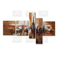 Wholesale original abstract art oil paintings for sale - Group buy handmade oil painting on canvas modern Best Art Abstract oil painting original directly from artist COXI5