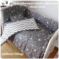Wholesale nursery bedding sets unisex for sale - Group buy Promotion Crib Baby Bedding Set Animal Baby Nursery Cot Bedding Crib Bumper cm