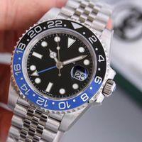 hebilla de cristal al por mayor-KS reloj cristal azul cristal calendario ventana 2836-3135 movimiento mecánico automático hebilla plegable impermeable reloj de lujo para hombres
