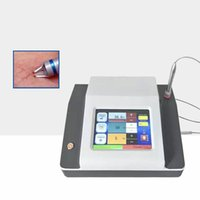 Wholesale medical diode lasers resale online - 15w w w nm laser spider vein removal machine vascular therapy machine with two years free warranty