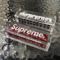 cajas de dados al por mayor-Sup Dice Acrílico Ajedrez Mahjong Bar-Dice Party Gambing Dices Hermoso regalo para amigos (5 PCS / Caja) 187