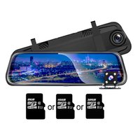 сенсорный экран для приборной панели автомобиля оптовых-Автомобильный видеорегистратор TOSPRA с двойной линзой 10