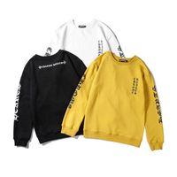 livraison gratuite de vêtements asiatiques achat en gros de-Mens marque sweat pull vêtements streetwear style casual designer pull avec 3 couleurs asiatiques taille m-2xl livraison gratuite